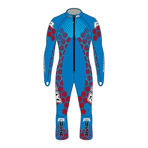 Fuxi Alpine Race Suit - Mt. Hood Design