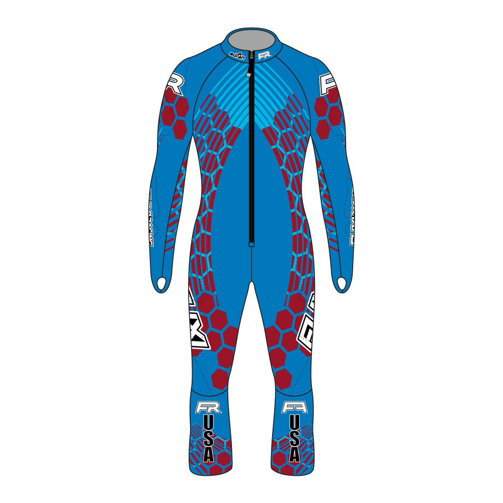 Fuxi Alpine Race Suit - Mt. Hood Design