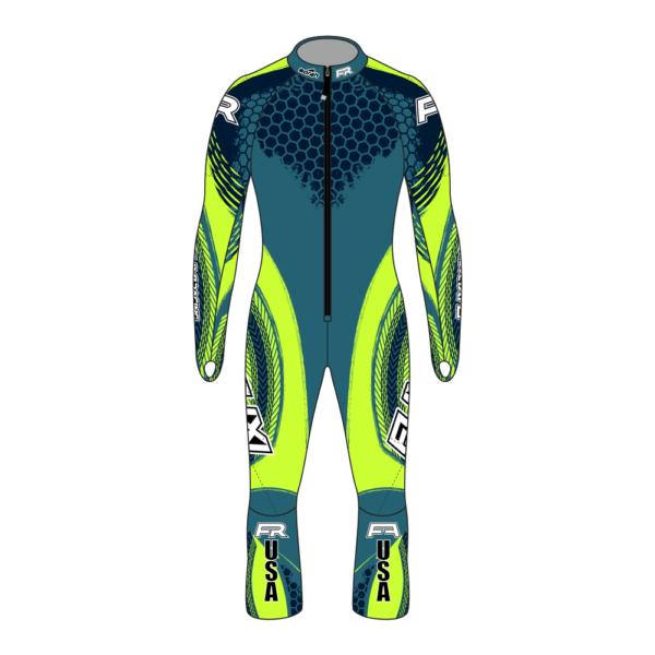 Fuxi Alpine Race Suit - Pokal Design