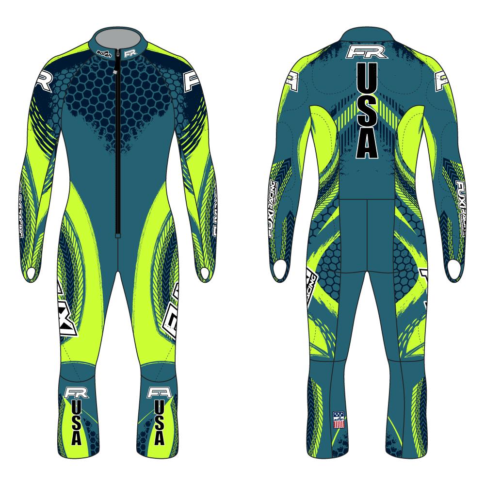 Fuxi Alpine Race Suit - Pokal Design2