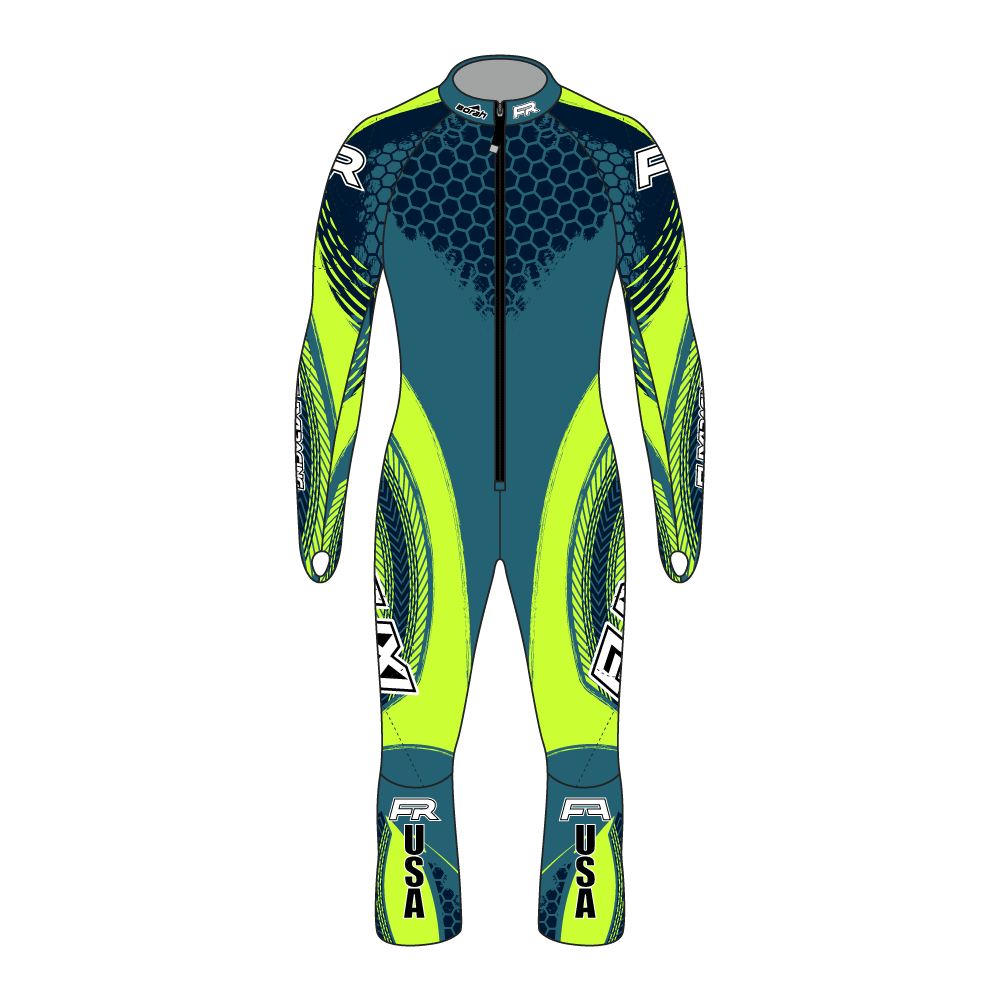 Fuxi Alpine Race Suit - Pokal Design