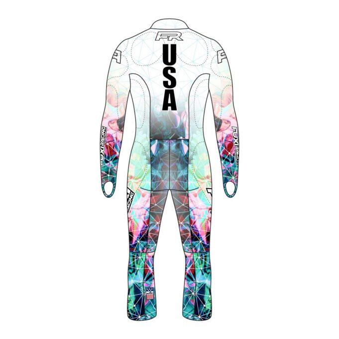 Fuxi Alpine Race Suit - Poly Design2