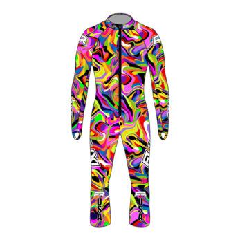 Fuxi Racing Alpine Race Suit – Psychedelic Design