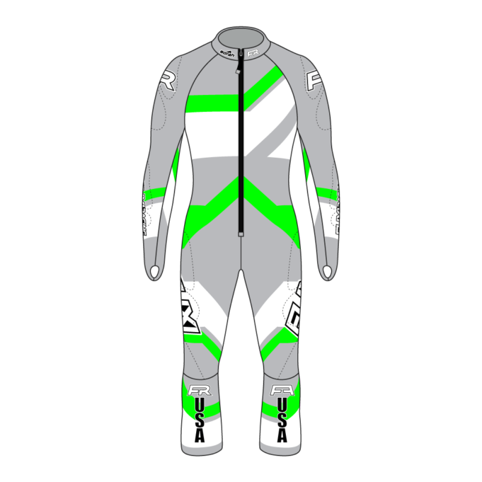 Fuxi Alpine Race Suit - Riesentorlauf Design