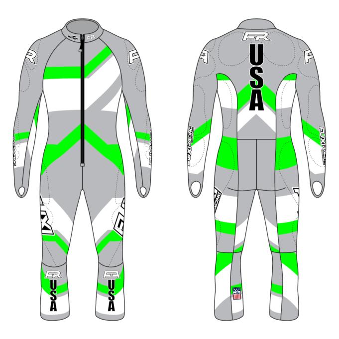 Fuxi Alpine Race Suit - Riesentorlauf Design2