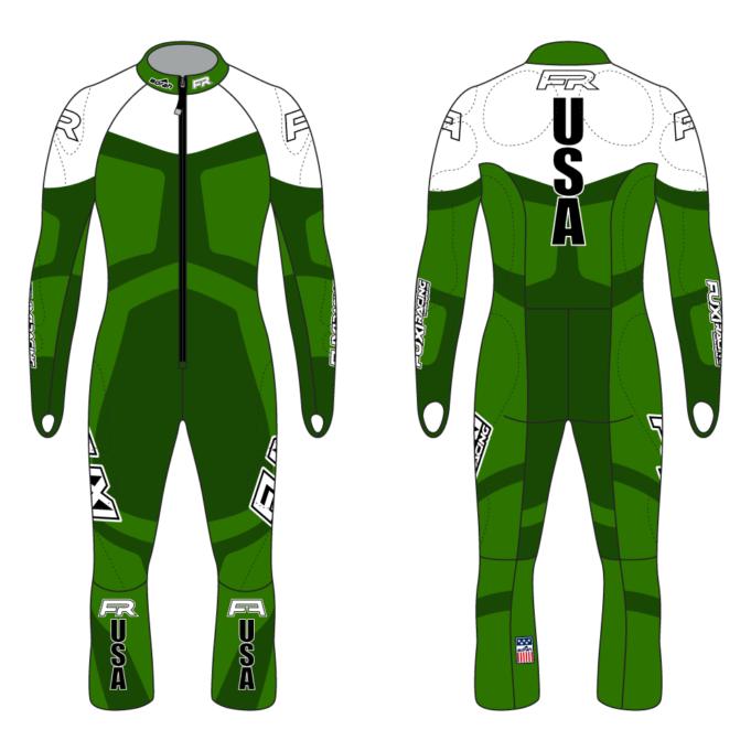 Fuxi Alpine Race Suit - Saalbach Design2