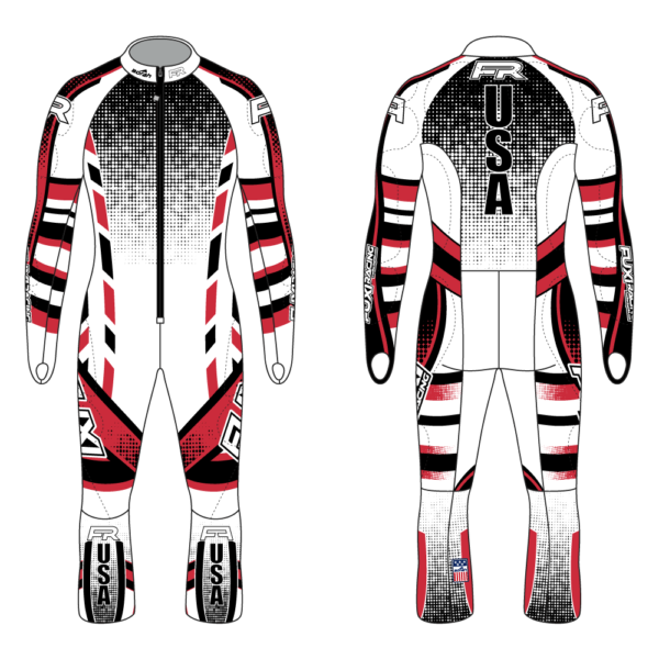 Fuxi Alpine Race Suit - Schneise Design2