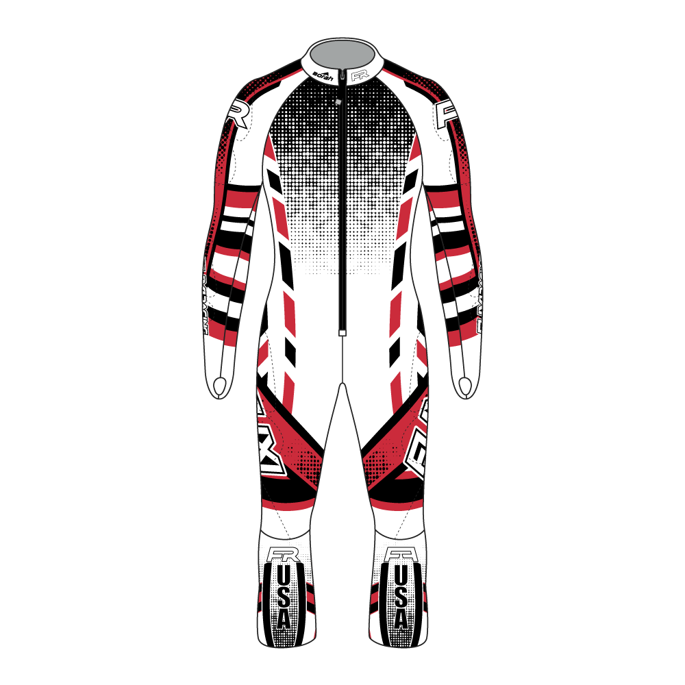 Fuxi Alpine Race Suit - Schneise Design