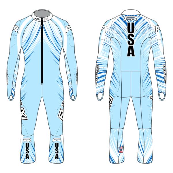 Fuxi Alpine Race Suit - Sparks Design2