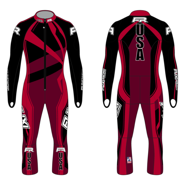Fuxi Alpine Race Suit - Spider Design2