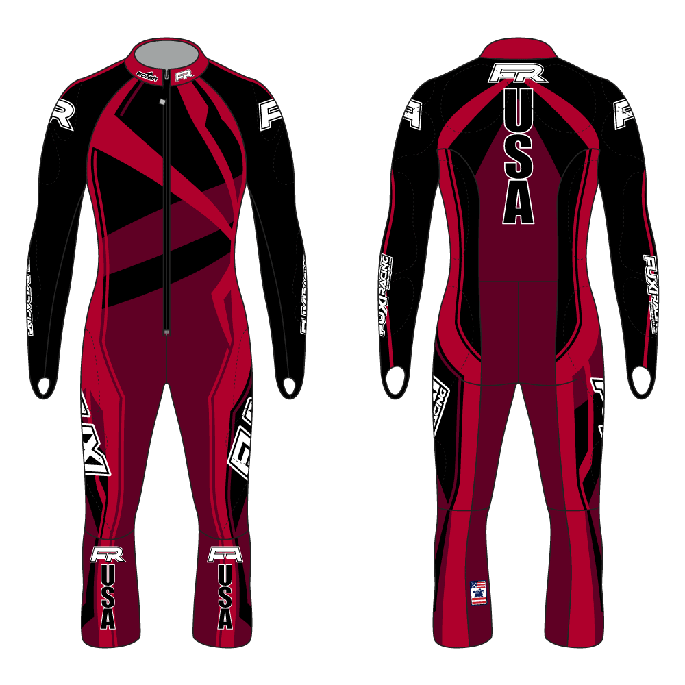 Fuxi Alpine Race Suit - Spider Design2
