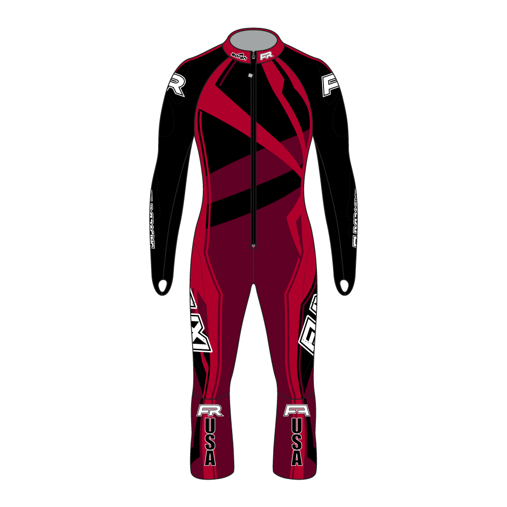 Fuxi Alpine Race Suit - Spider Design