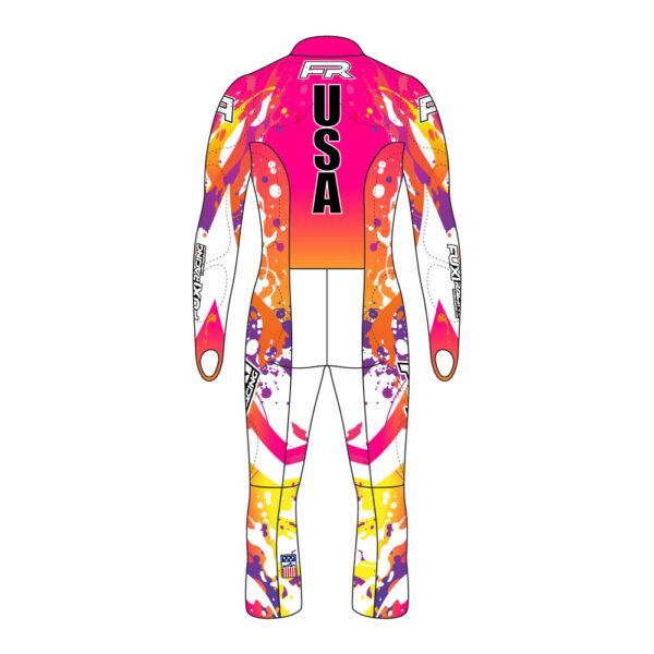 Fuxi Alpine Race Suit - Splash Design2