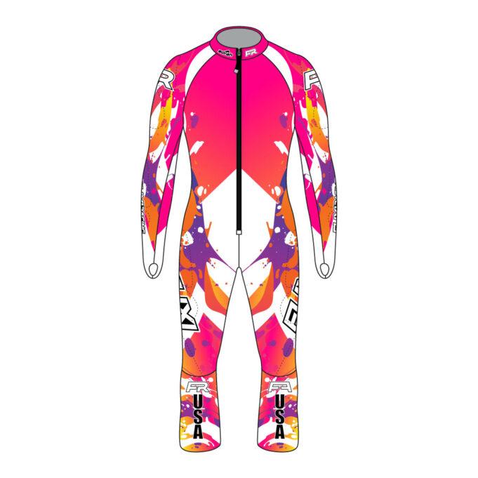 Fuxi Alpine Race Suit - Splash Design