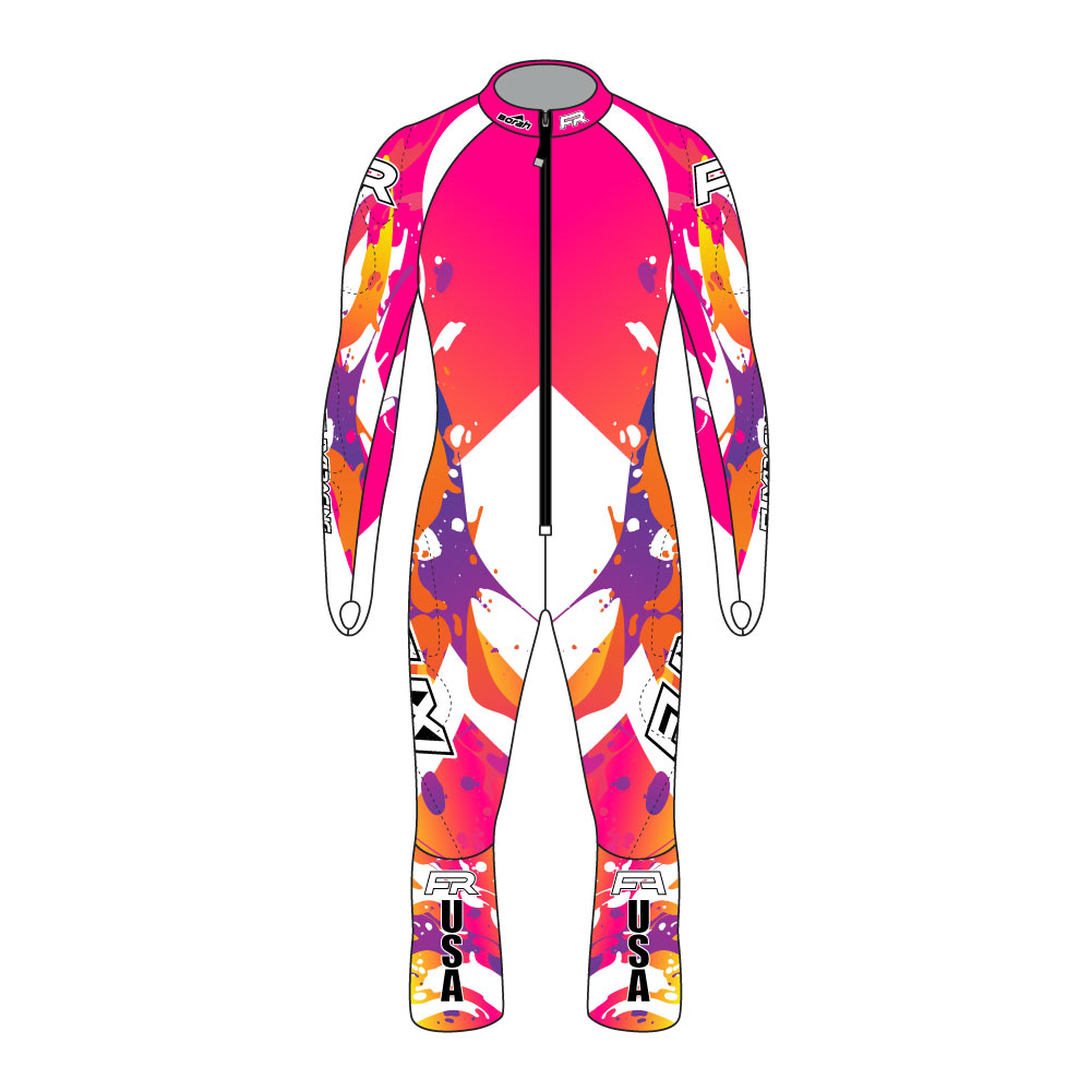 Fuxi Alpine Race Suit - Splash Design