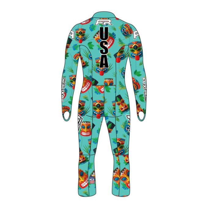 Fuxi Alpine Race Suit - Squeaky Tiki Design2