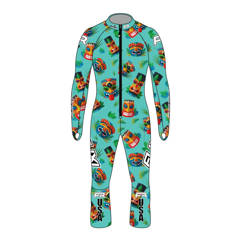 Fuxi Alpine Race Suit - Squeaky Tiki Design