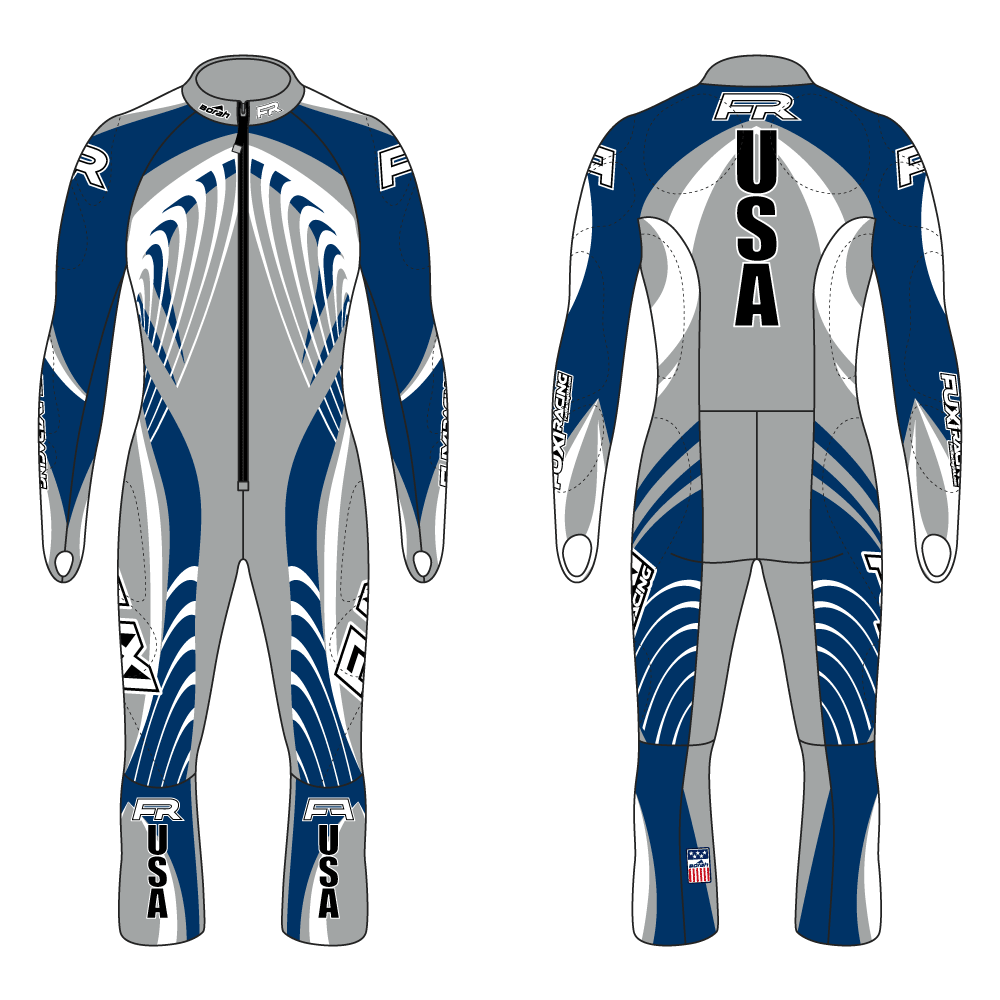 Fuxi Alpine Race Suit - Weltmeister Design2