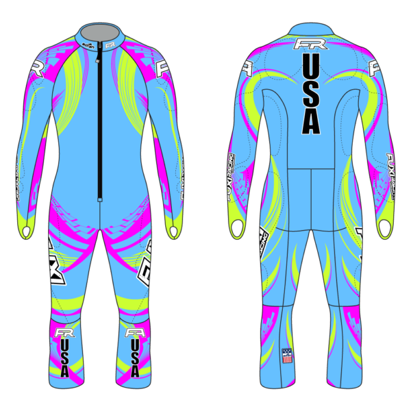Fuxi Alpine Race Suit - Zielschuss Design2