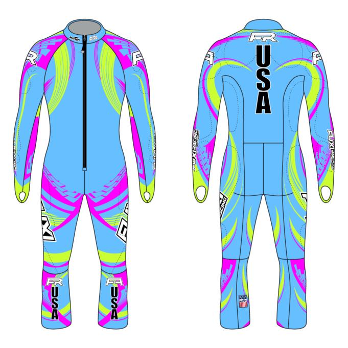 Fuxi Alpine Race Suit - Zielschuss Design2