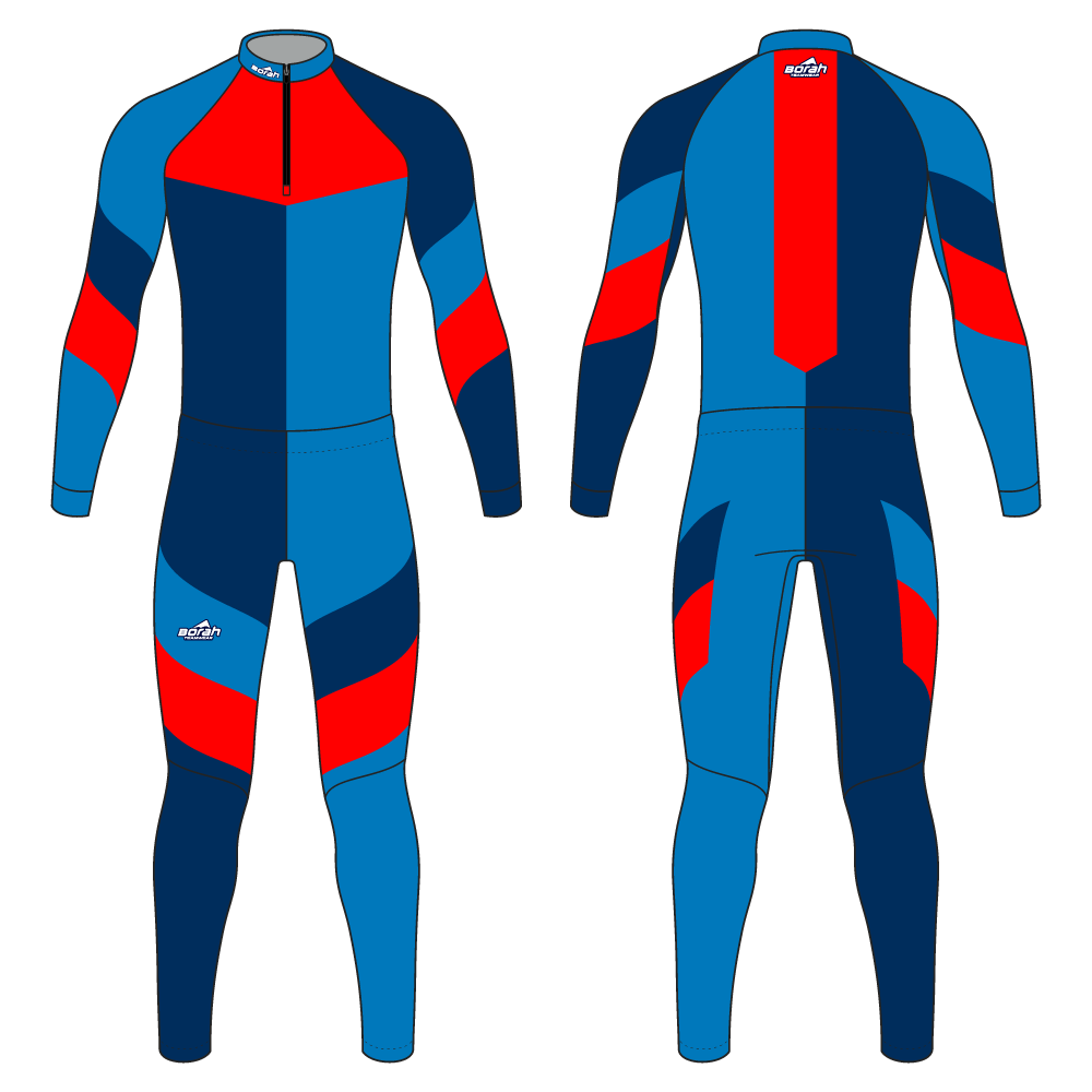 Pro XC Suit - Camber Design Front and Back