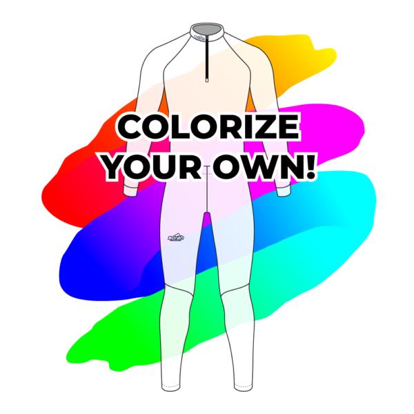 Colorize Your Own Pro XC Suit