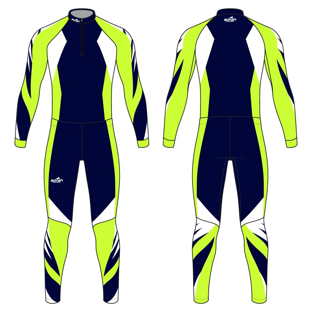 Pro XC Suit - Blaze Design Front and Back