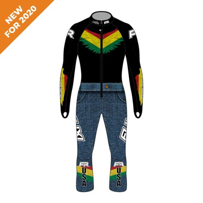 Fuxi Alpine Race Suit - Bolivian Wolf Design New for 2020