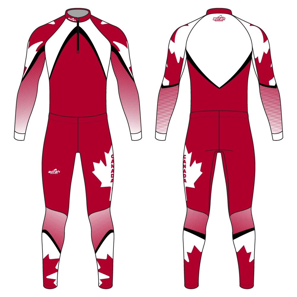 Pro XC Suit - Canada Design Front and Back