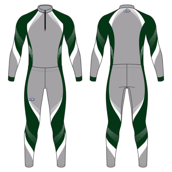 Pro XC Suit - Crescendo Design Front and Back