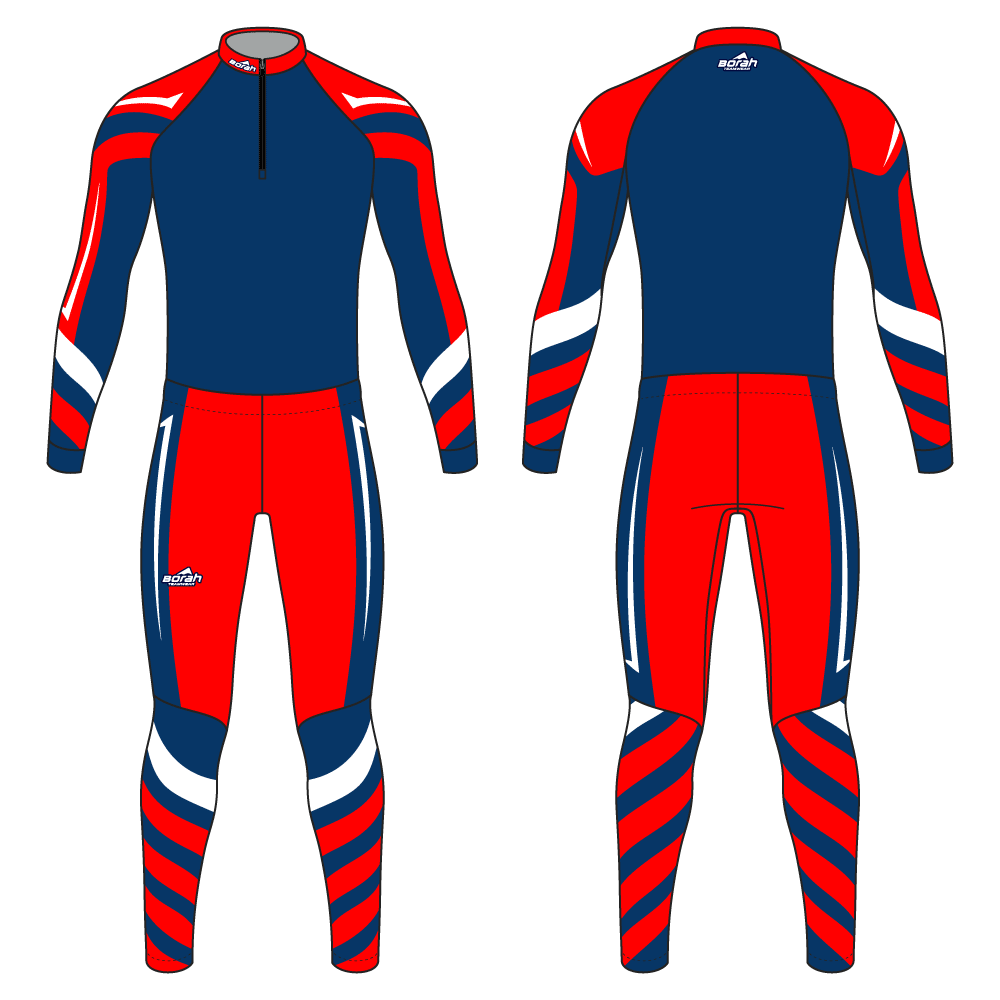 Pro XC Suit - Flash Design Front and Back