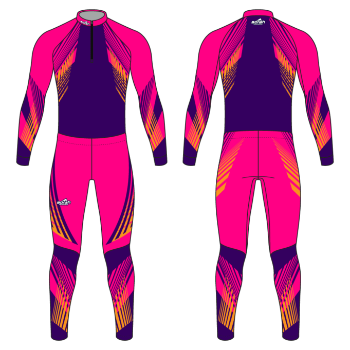 Pro XC Suit - Hammer Design Front and Back