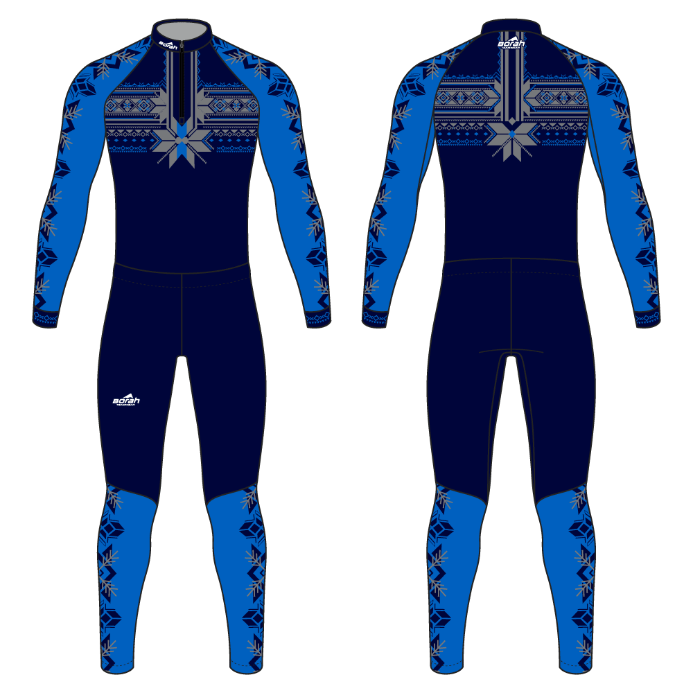 Pro XC Suit - Heritage Design Front and Back