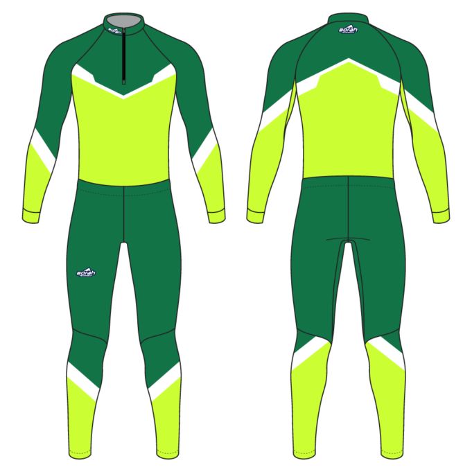 Pro XC Suit - Hero Design Front and Back