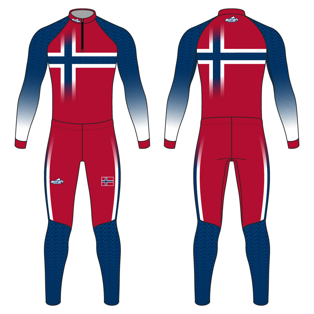 Pro XC Suit - Norway Design Front and Back