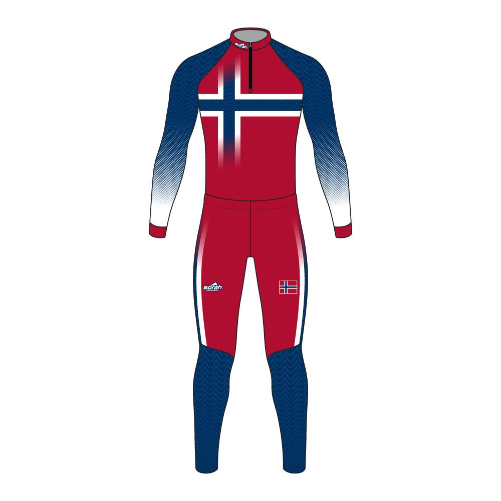 Pro XC Suit - Norway Design Front