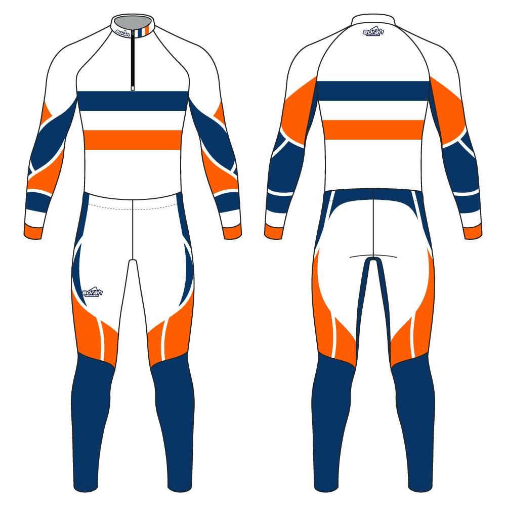 Pro XC Suit - Retro Design Front and Back