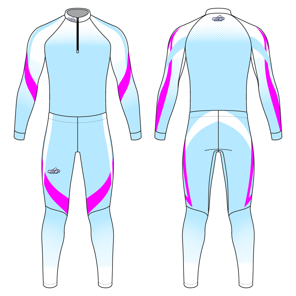 Pro XC Suit - Swift Design Front and Back