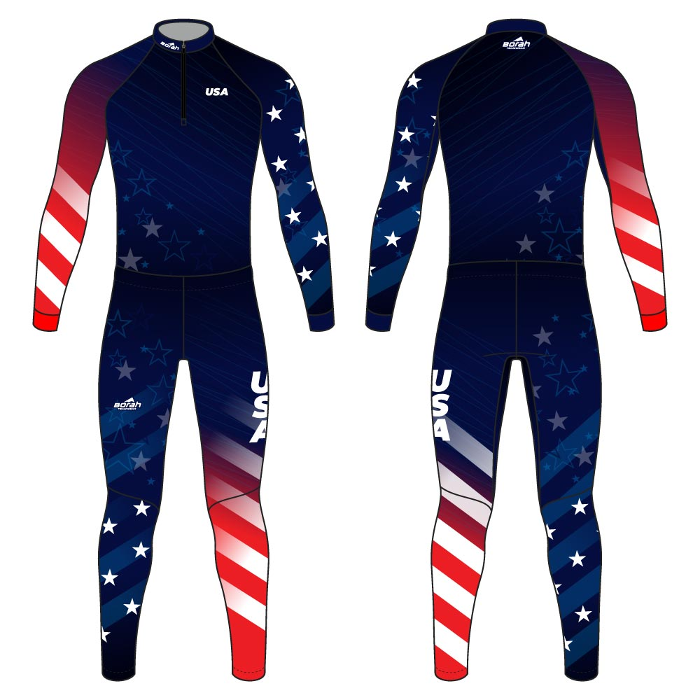 Pro XC Suit - USA Design Front and Back