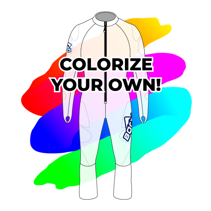 Colorize Your Own Alpine Race Suits