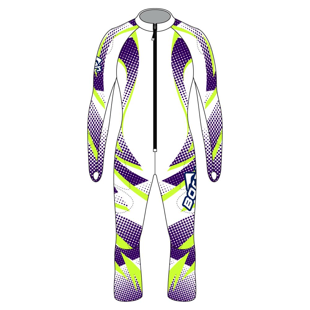 Alpine Race Suit - Avalanche Design