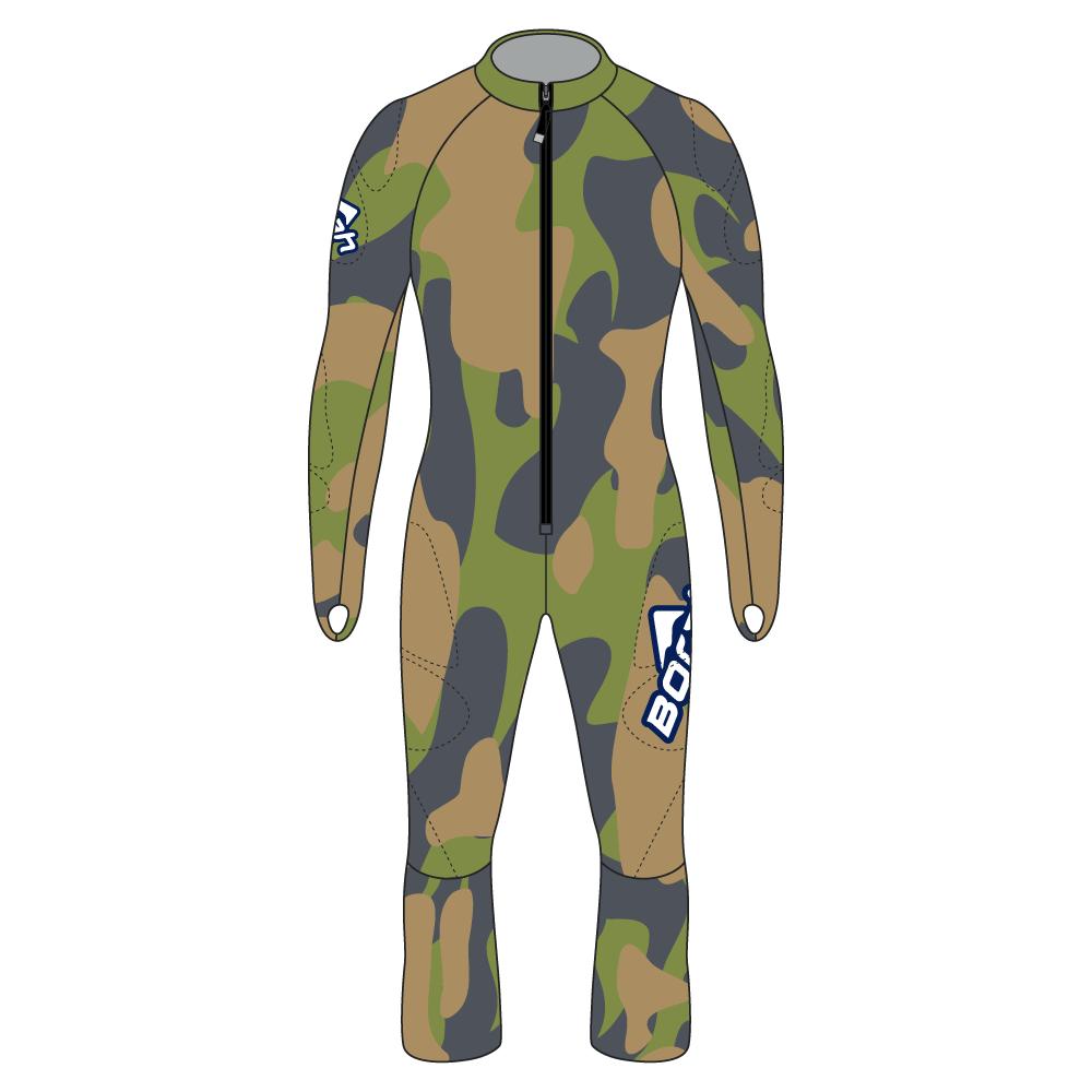 Alpine Race Suit - Camo Design