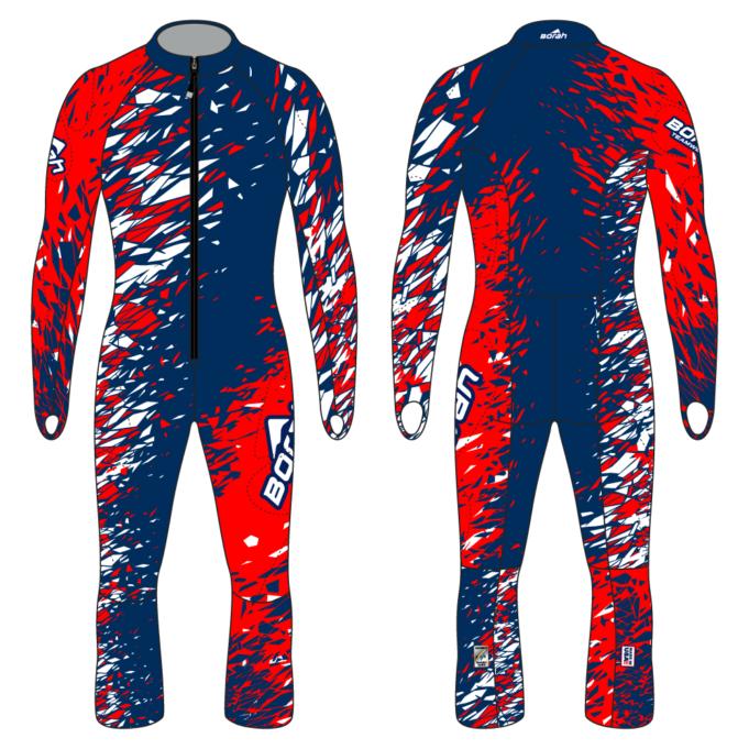 Alpine Race Suit - Fragment Design Front and Back
