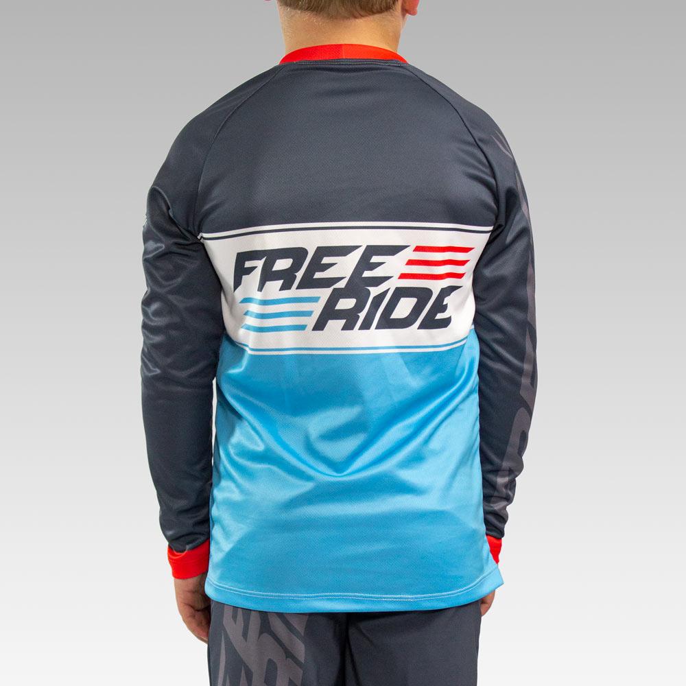 Custom Youth Freeride Long Sleeve Jersey Gallery4