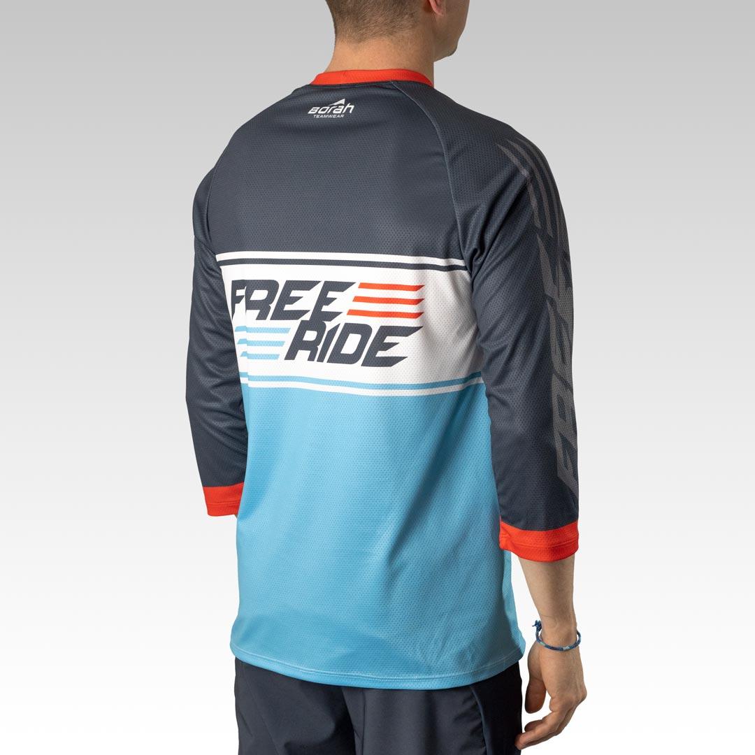 Pro 3/4 Sleeve Freeride MTB Jersey Gallery 4