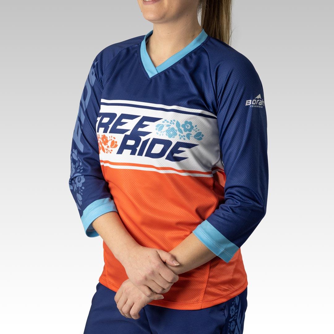 Women's Pro 3/4 Sleeve Freeride MTB Jersey Gallery1