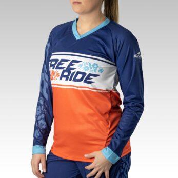 Women's Pro Long Sleeve Freeride MTB Jersey