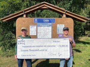 Borah Epic donates $16,000 to CAMBA
